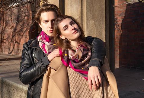 scarves Otesanek