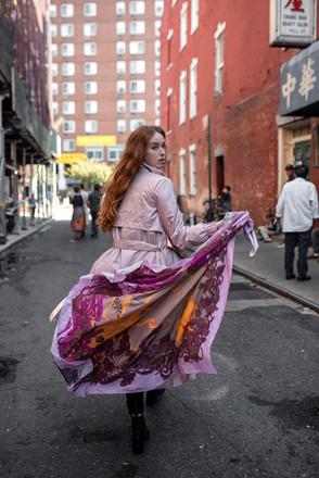 Silky Gang šátek Smolíček new York