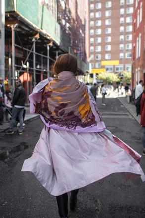 New York šátek pareo Smolíček