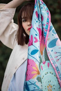 scarf Thumbelina