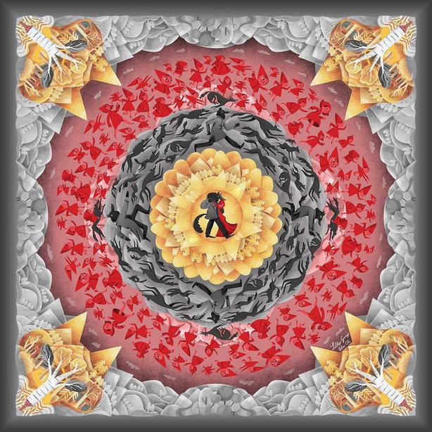 Ilustrace Červená Karkulka
