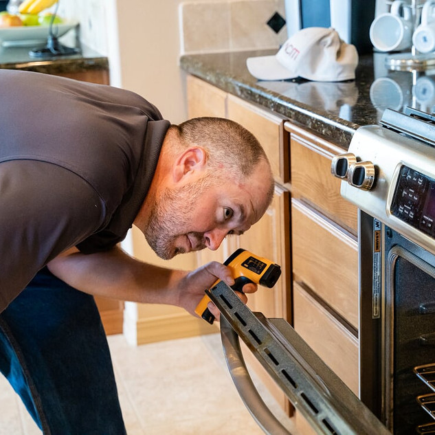 Oven Testing During Home Inspection