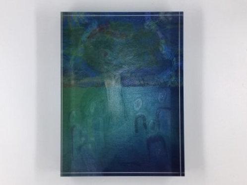 Acrylblock 'Het Verlichte Pad'