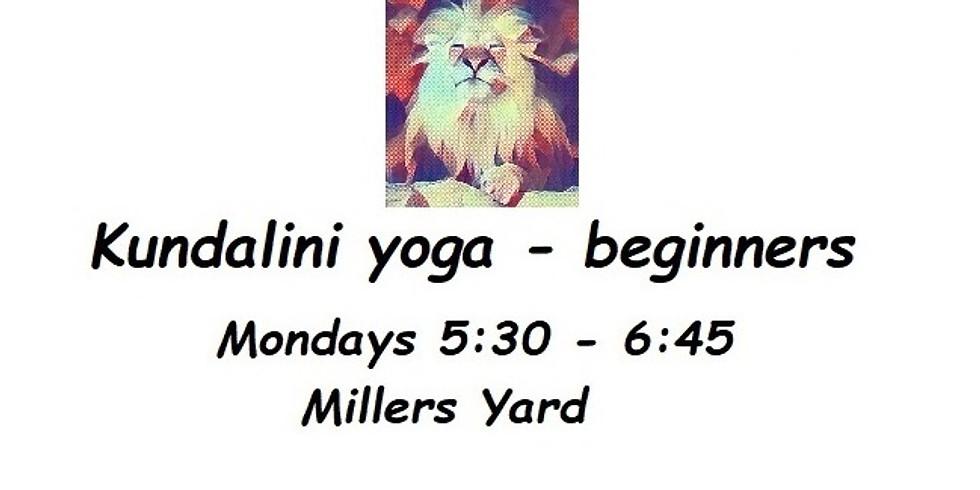 Kundalini yoga at Millers Yard - beginners
