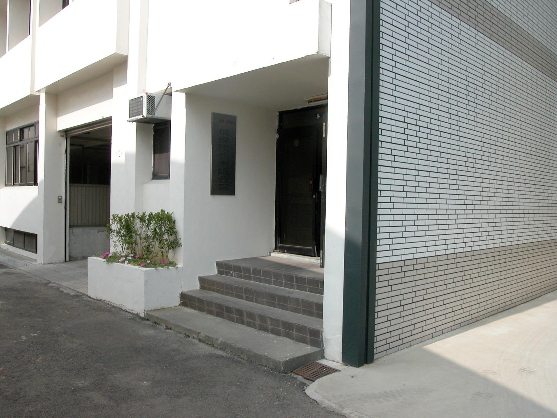 Hauseingang im Idustriequartier
