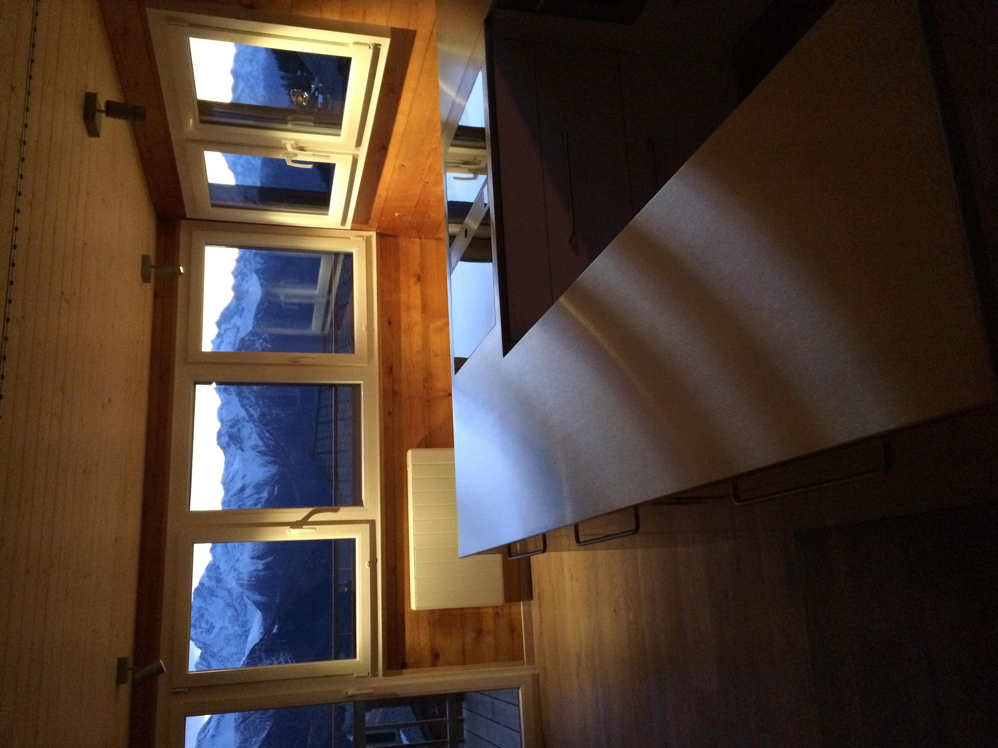 neue Küche mit Ausblick