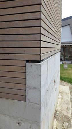 Terrasse Garage Eckdetail