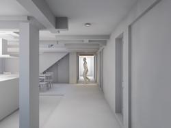 Gang Erdgeschoss Variante B