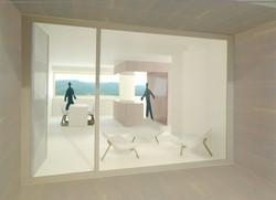 Modell Wohnraum