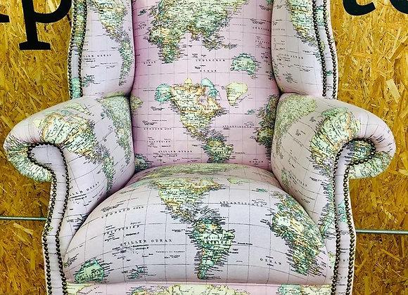 Orbis - Large Atlas Wingback Chair