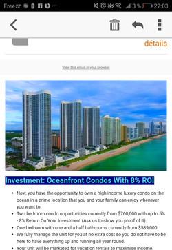 Investment: Oceanfront Condo