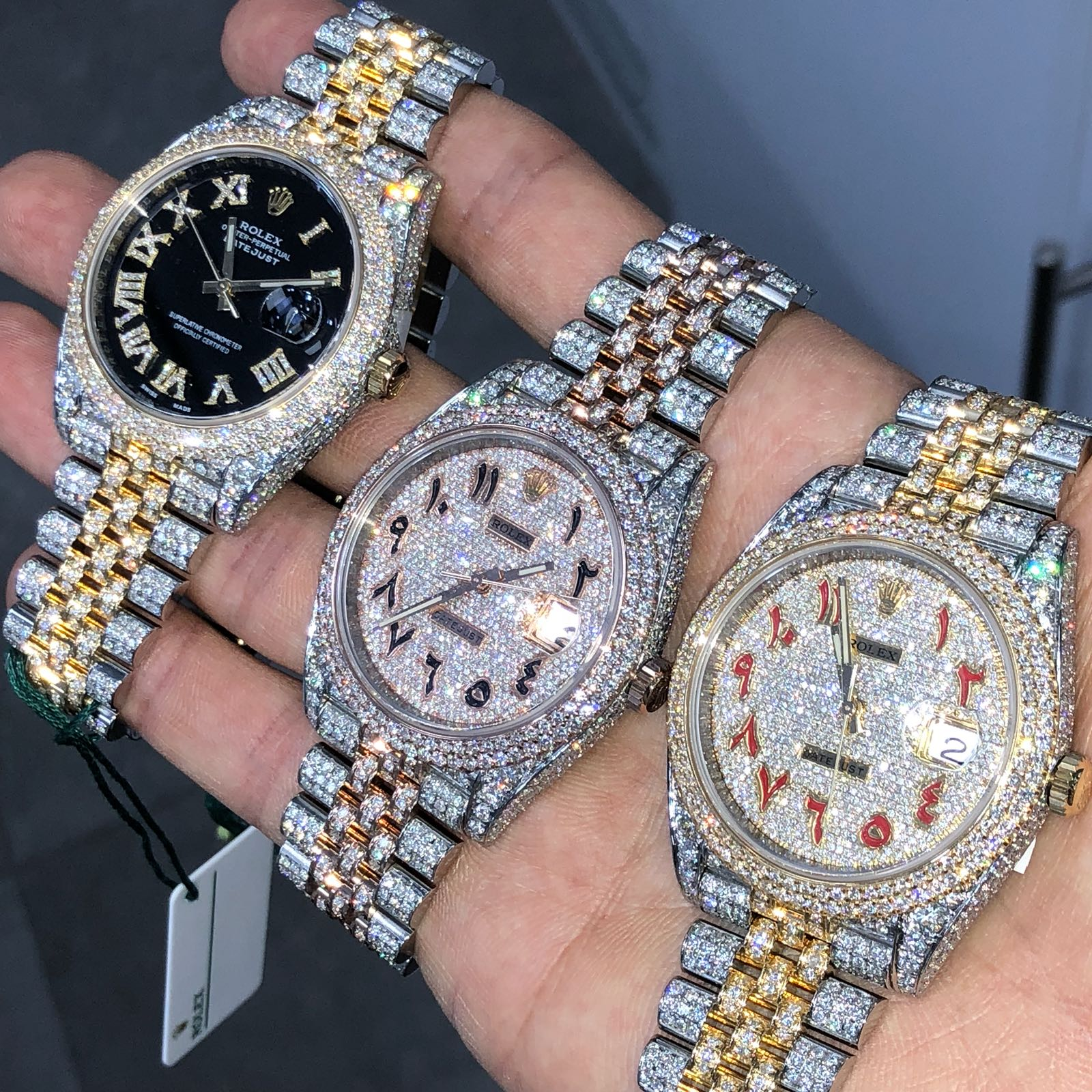 Rolex Rose & Yellow Gold Watches
