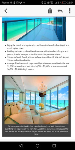 Condo for investment rental