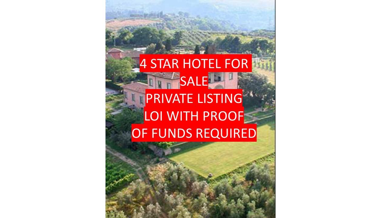 4 Star Villa- Hotel, Tuscany