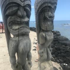 Tiki guardians