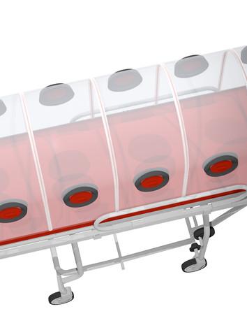 transparent chamber,Isolation Stretcher
