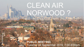 Clean Air Norwood?  Meeting on 24th September