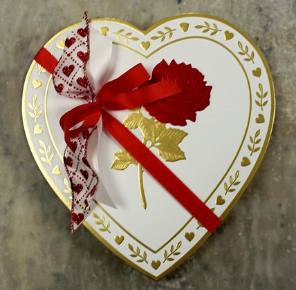 1# Assorted Chocolate filled Heart Box
