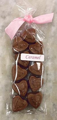 Liquid Caramel Hearts
