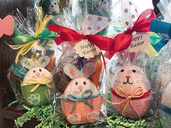Bunny Candy Baskets
