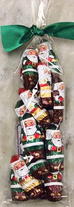 Foil Santas Dark Chocolate