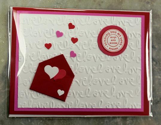 Valentine's Day Card (Postmarked)