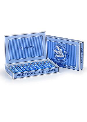 """It's a Boy"" Chocolate Cigars"