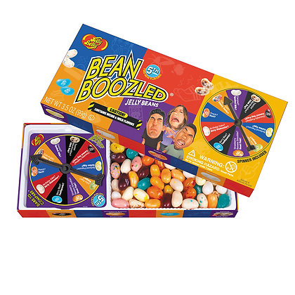 Bean Boozeled with spinner