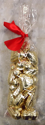 Gold Foil Hearts Milk Chocolate