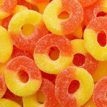 Peach Gummie Rings