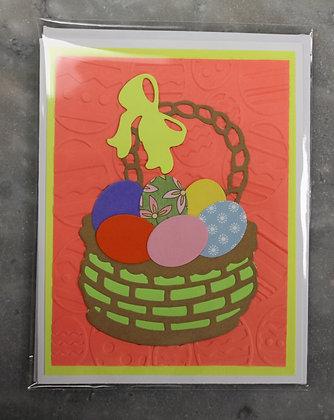 Easter Card (Easter Basket)