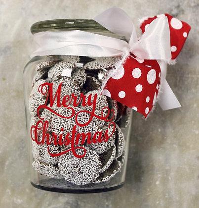 Non Pareils Dark Chocolate in a Jar