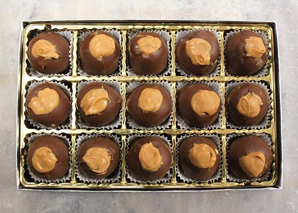 15 Peanut Butter Buckeyes
