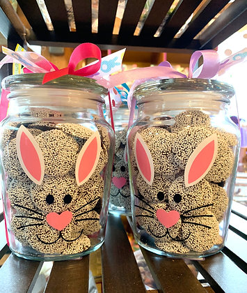 Easter Jars - Non Pareils or Foil Eggs