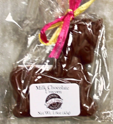 Nut Free Milk Chocolate Unicorn