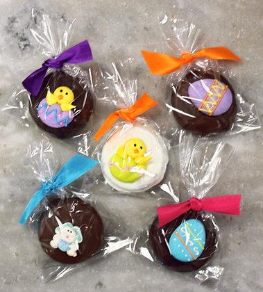 Single Chocolate Covered Oreo Decorated