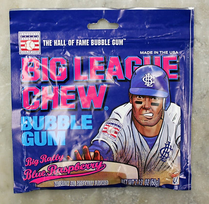 Big League Chew Blue Raspberry