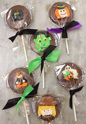 Halloween Chocolate Sucker