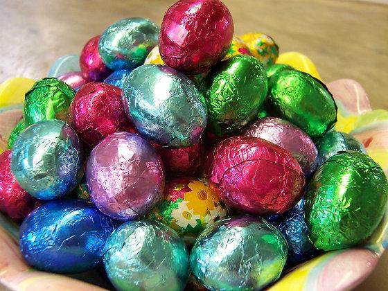 Foil Chocolate Eggs