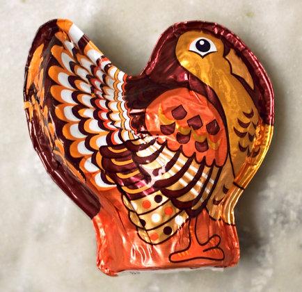 Turkey 3D Hollow Dark Chocolate