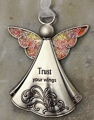 Trust Your Wings (Car Charms)