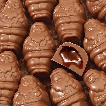 Caramel Santas
