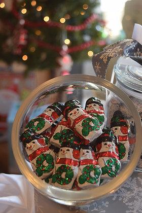 Milk Chocolate Christmas Foils