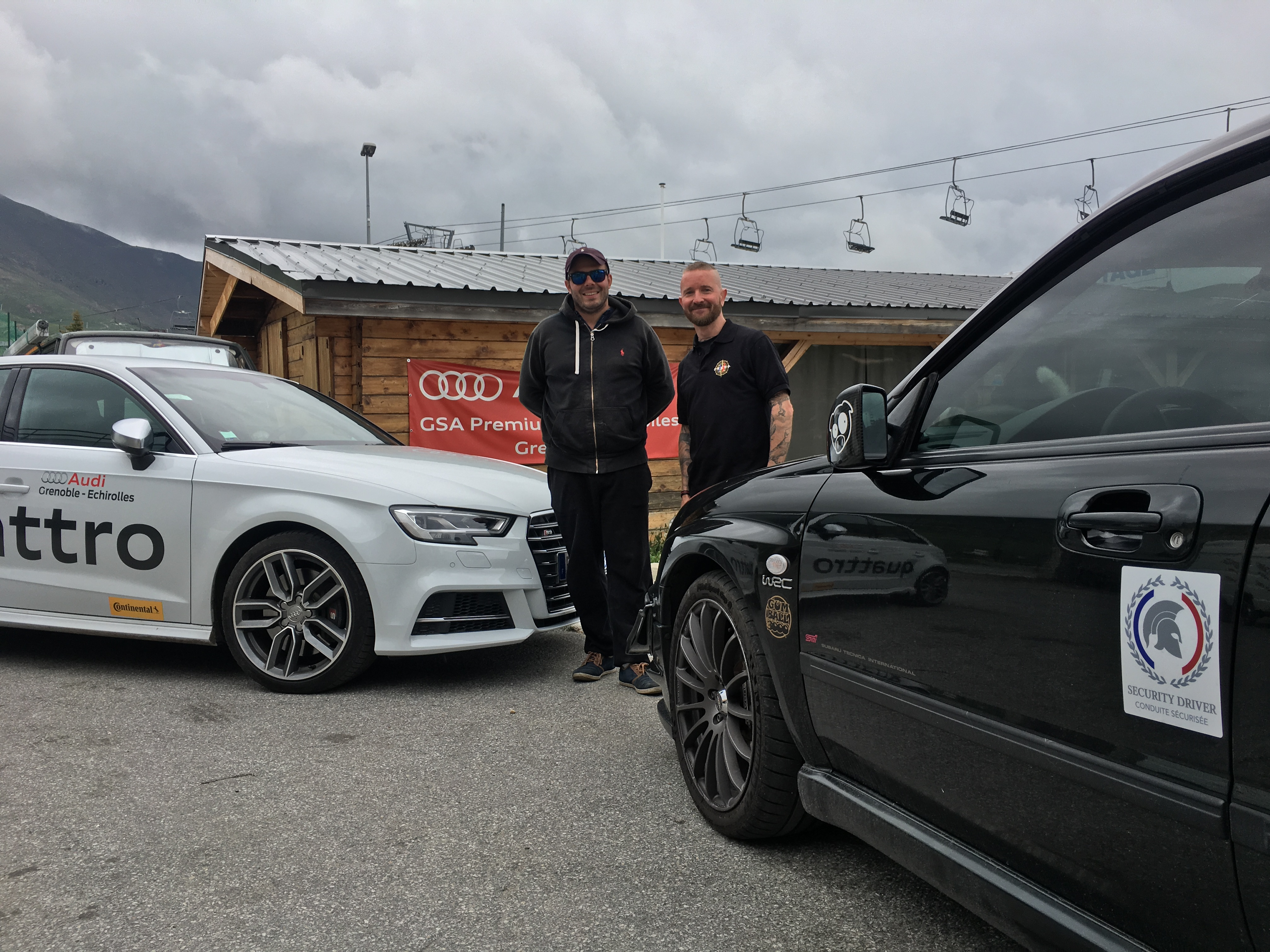 Audi et STi EVODRIVER