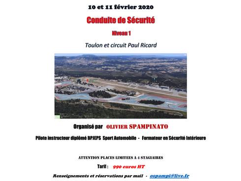 LES STAGES S-RED CONTINUENT TOUTE L'ANNÉE, PROCHAIN NIVEAU 1 LES 10 ET 11 FÉVRIER 2020 !