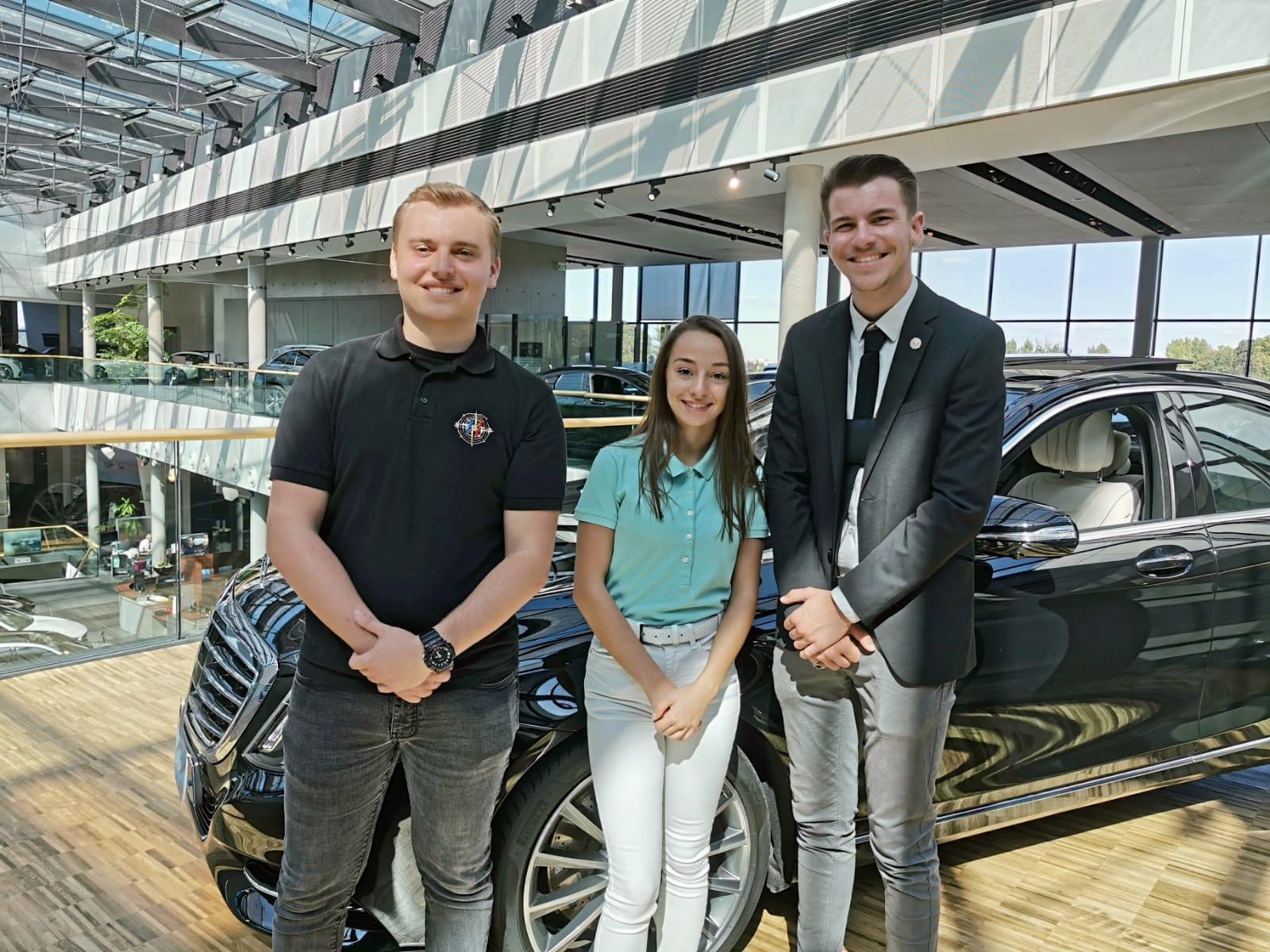 Mercedes 2019 Class S bureau SNCTP