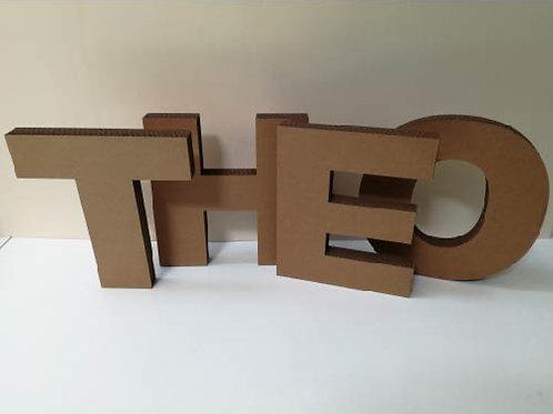 Letters karton