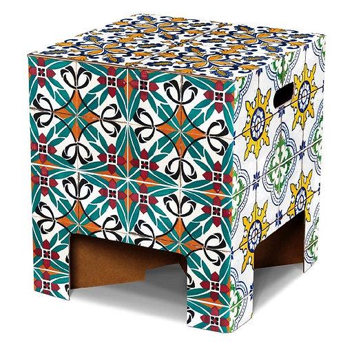 Dutch Design Chair - portugese tiles - 19,95