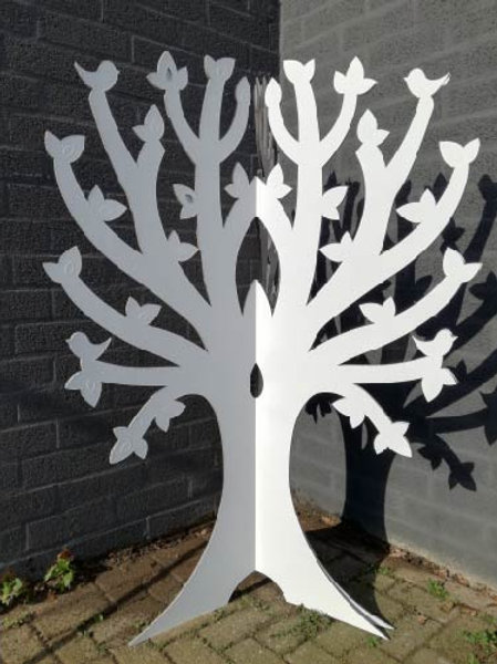 Kartonnen boom 3 delen