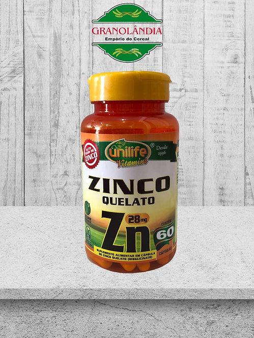Zinco Bisglicinato - 60 cápsulas